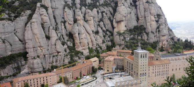 Atrakcje w okolicach Barcelony – Góry Montserrat.
