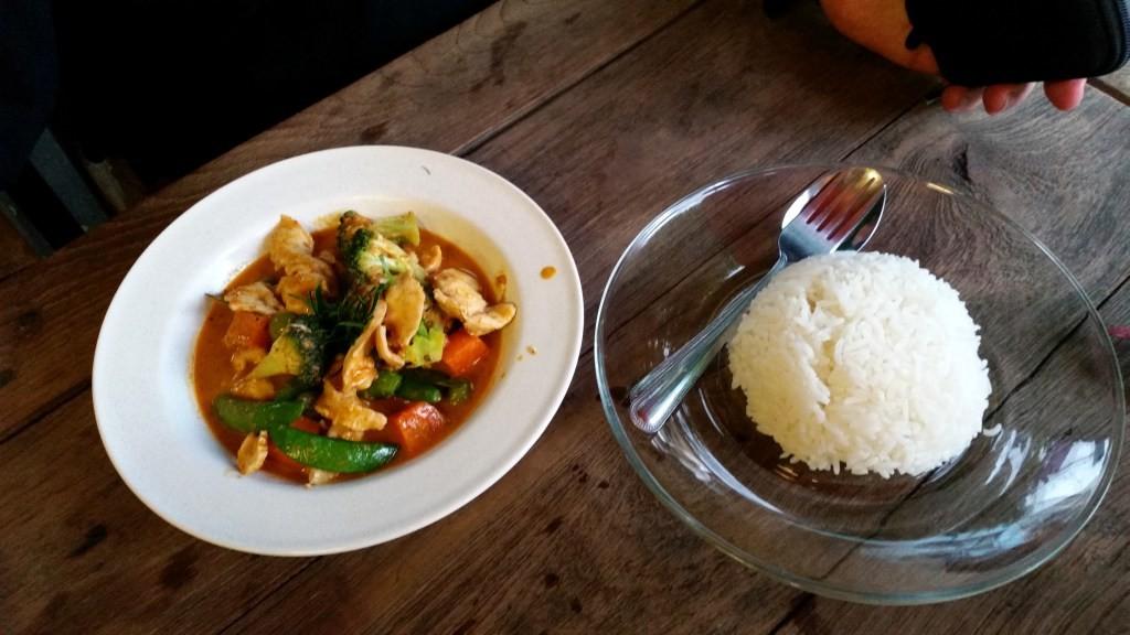 Kurczak Penang