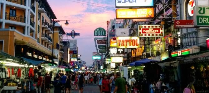 Bangkok – Pad Thai w blasku złotego Buddy cz.1