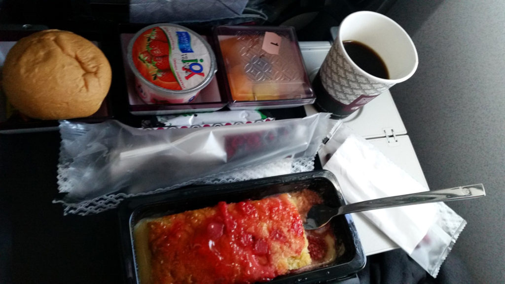Qatar - śniadanie 1