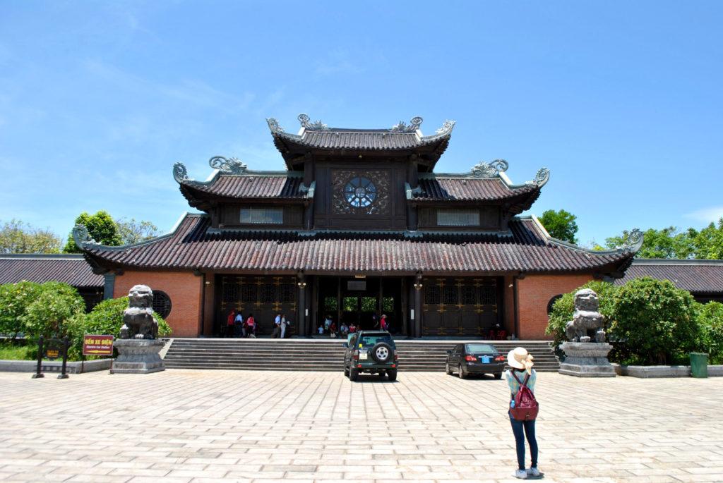 Bai Dinh Entry portal