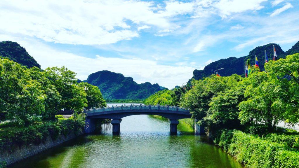 Trang An wejście