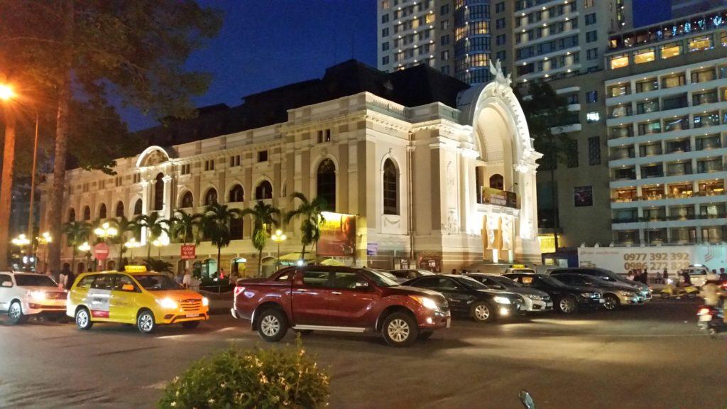 Ho Chi Minh city nocą 2