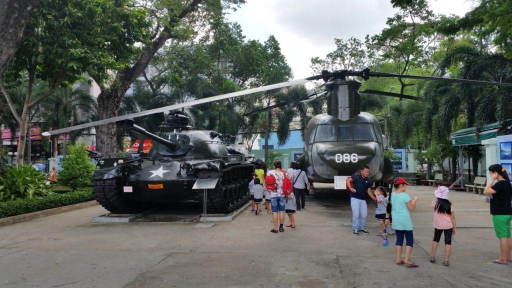 Muzeum pozostałości wojennych Sajgon 2
