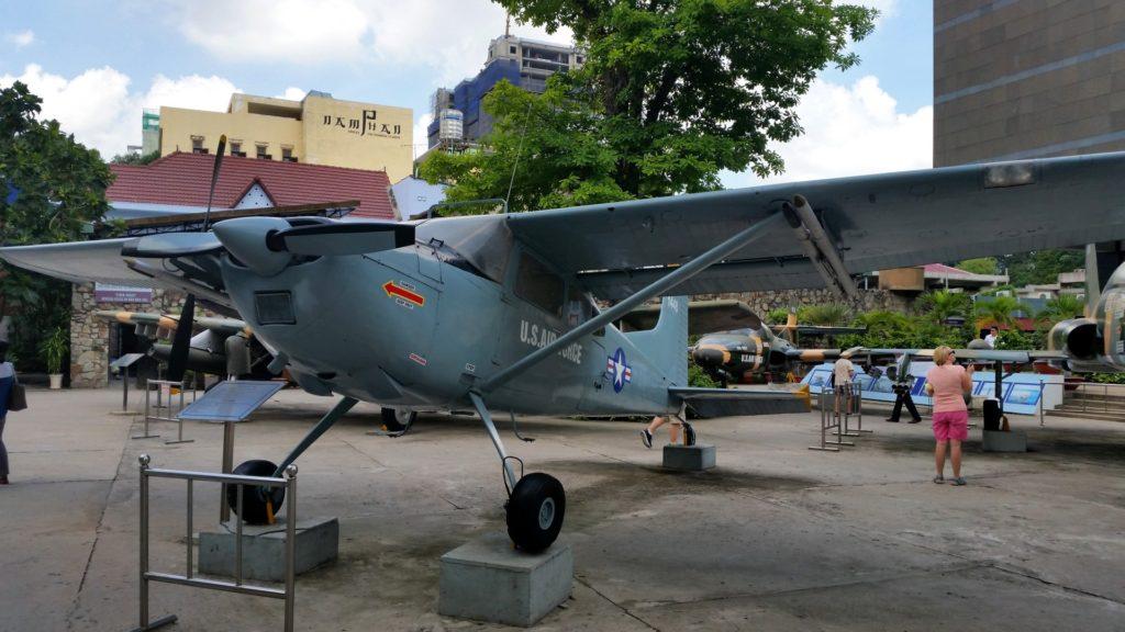 Muzeum pozostałości wojennych Sajgon 3