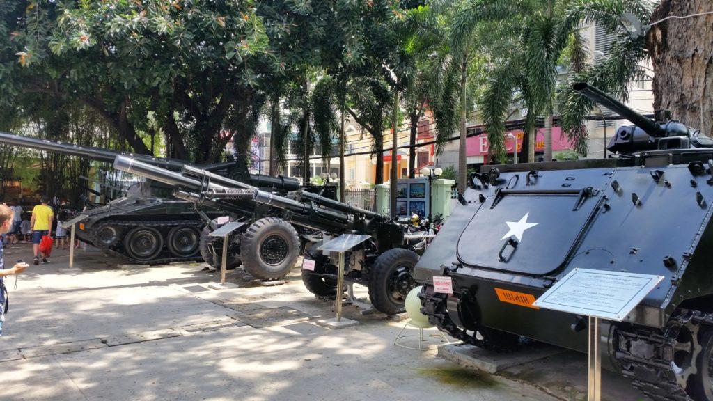 Muzeum pozostałości wojennych Sajgon 4